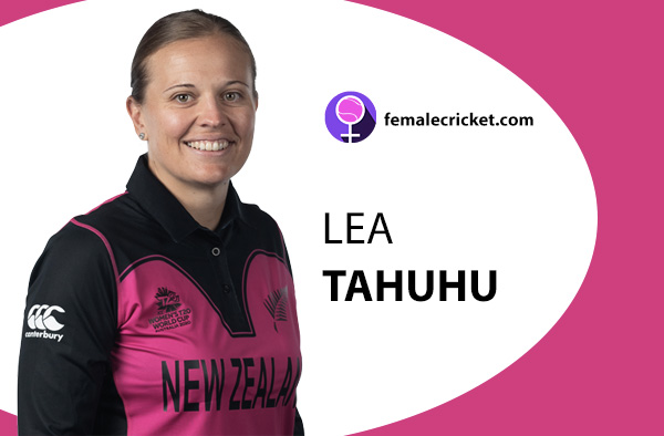 Lea Tahuhu. Women's T20 World Cup 2020