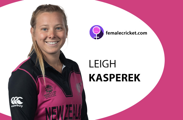 Leigh Kasperek. Women's T20 World Cup 2020