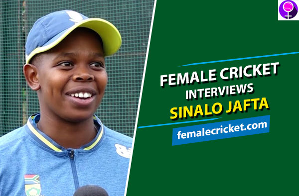 Female Cricket interviews Sinalo Jafta - South African Wicket-Keeper