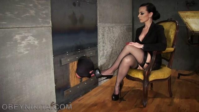 Mistress Nikita Femdom Videos Shoe Hole Mp4 0009