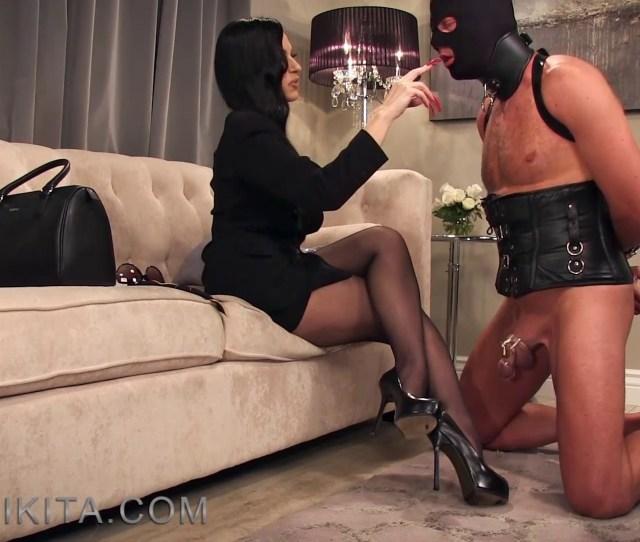 Mistress Nikita Femdom Videos Nail Licker Mp4 0017