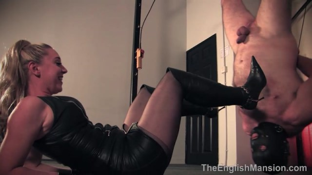 Bitch World Femdom Suspended Inverted Whipped Starring Mistress Vixen And Mistress Sidonia