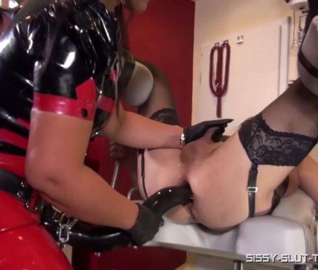 Femdom 2018 Sissy Slut Training Xxxl For Her Ass Sissy Sluts Anal Strap On