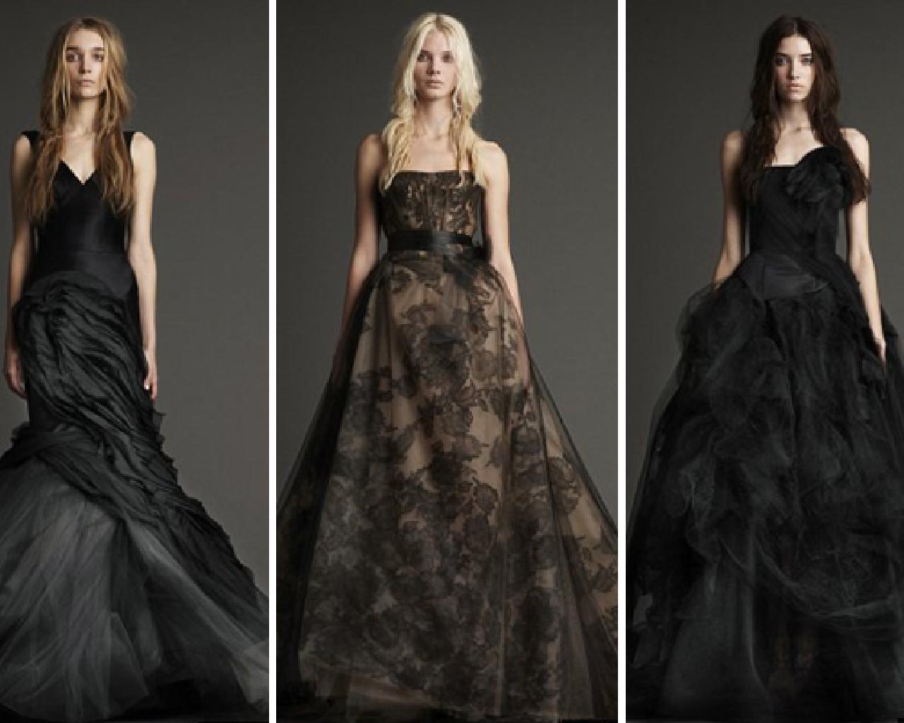 Black Wedding Dresses! Yes Or No!?