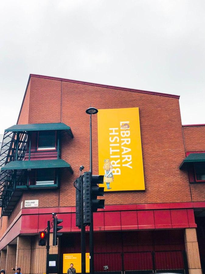 literary tour of london- british library
