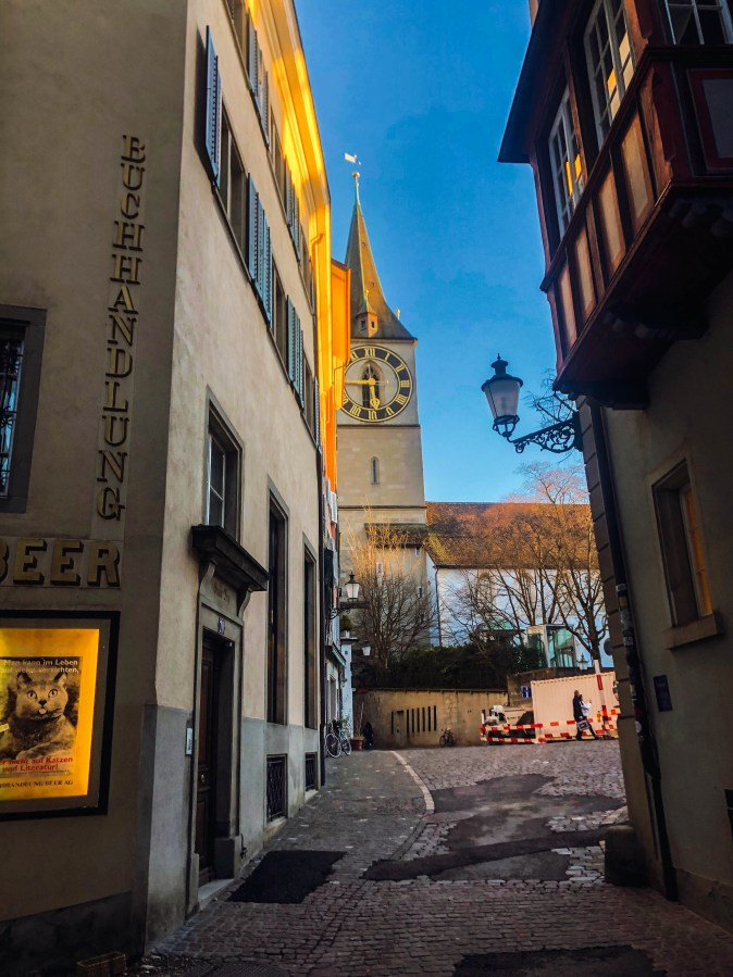 literary tour of zurich