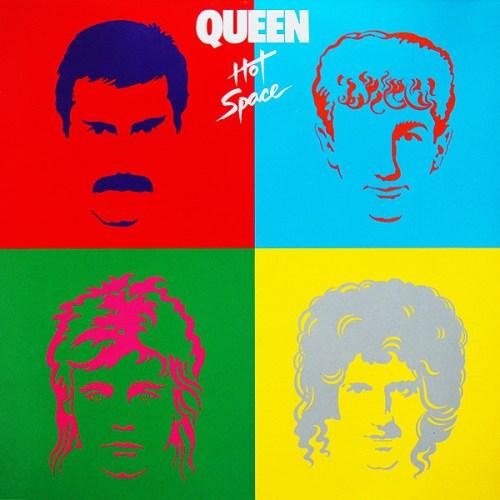 Queen - Hot Space (1982) album cover