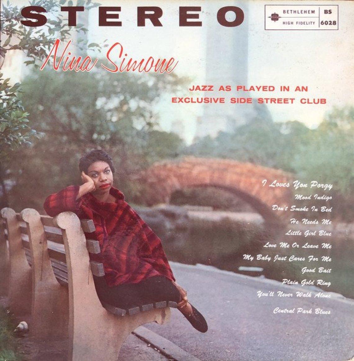 Little Girl Blue (1959) album cover - 40 Best Nina Simone Songs (The Legend Slot) - Female Original
