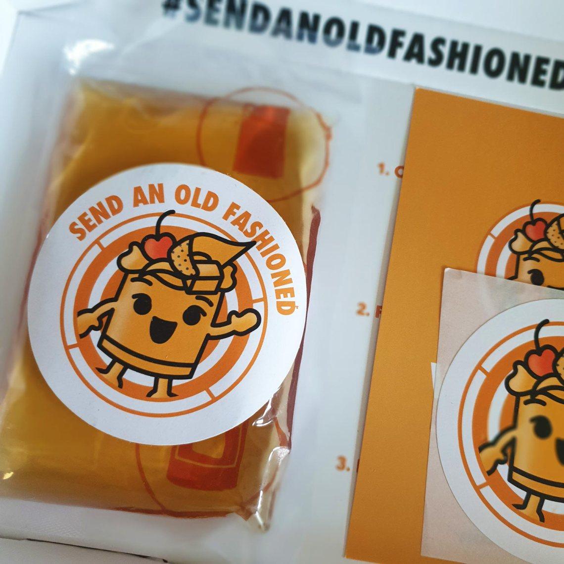 Send an Old Fashioned - Female Original