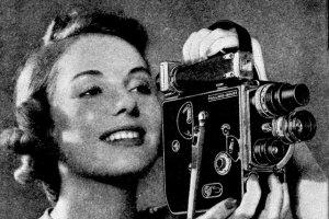 Female porn directors - woman with a Bolex camera