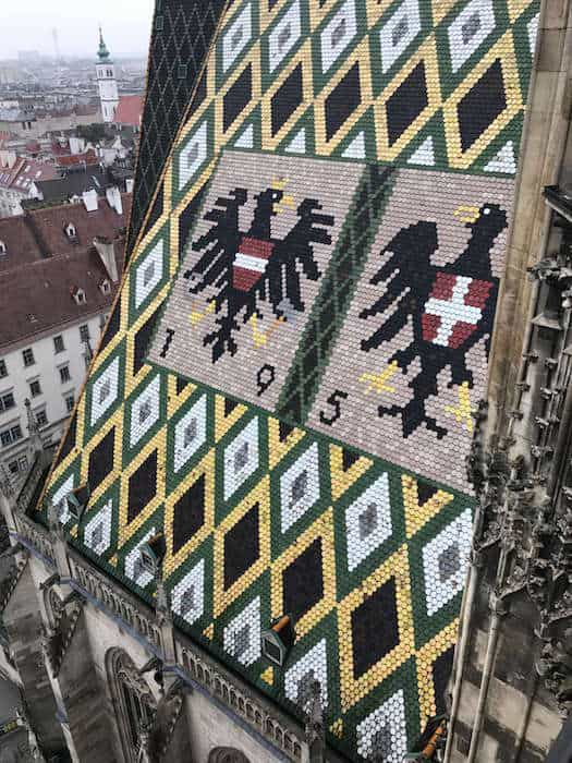 St Stephen's Cathedral Roof in Vienna