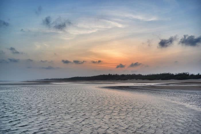 Sunset at Mandarmani