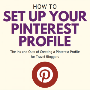 How To Set Up Pinterest Profile
