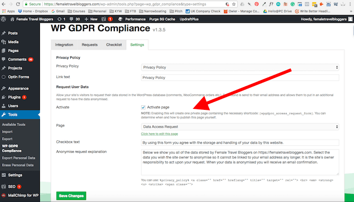 Data Access for GDPR Compliance