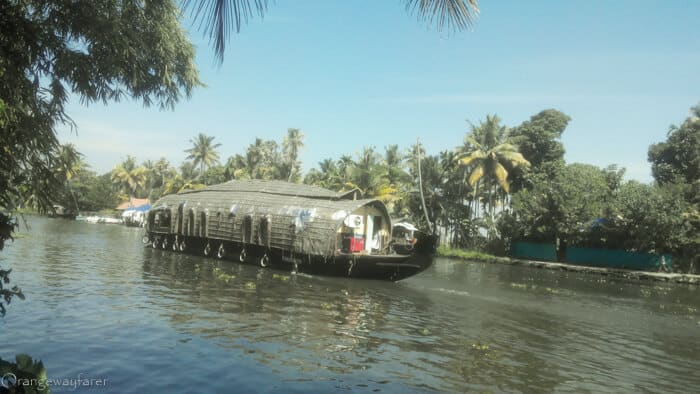 Tourist places in Kerala: houseboats