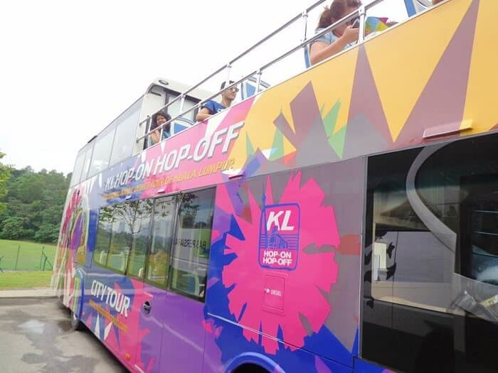 KL Hop-on Hop-off Bus, things to do in Kuala Lumpur in 2 days
