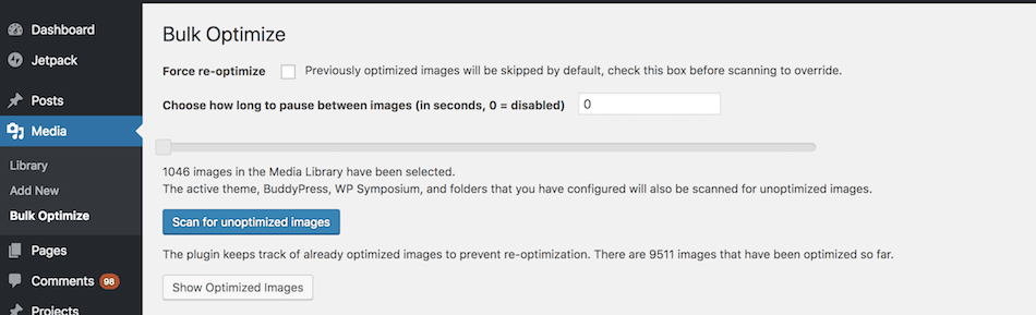 Improve your Site Speed Bulk Optimize with EWWW Image Optimizer