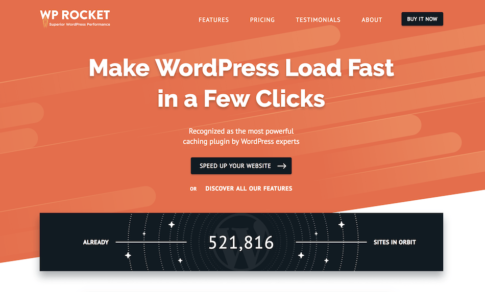 Improve your Site Speed with WP Rocket