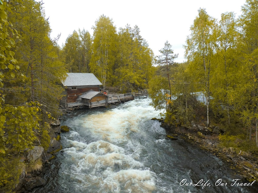 Oulanka National Park in Finland