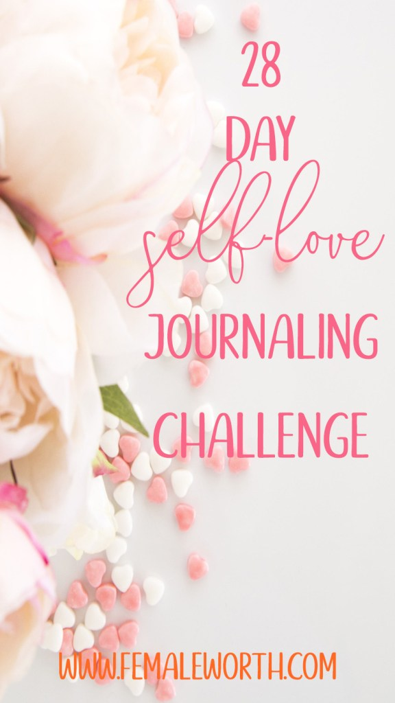 28 day self-love journaling challenge