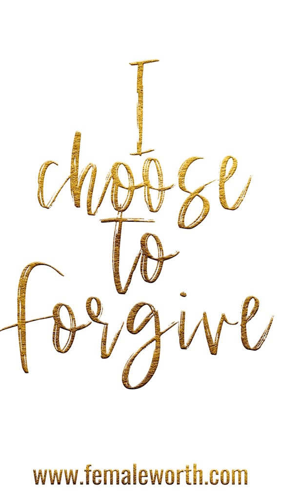 A Quick and Easy way to practice forgiveness