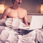 masturbating online