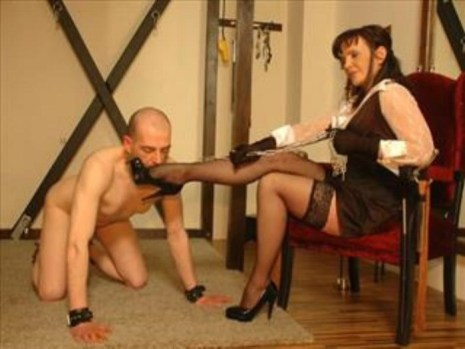 mistress and her slave