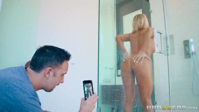 Dude Takes A Pic Of His Nude Stepmom In A Shower And Gets His Dick Sucked Xxx Femefun