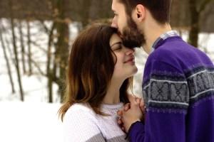 cuplu iarna