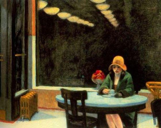 Autómata, 1927.  Edward Hopper