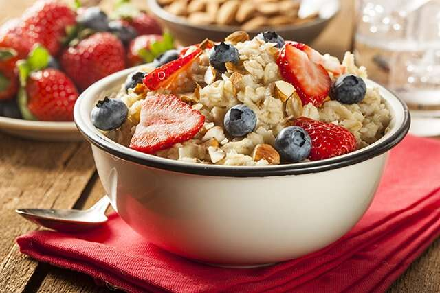 High fiber Oats To Lose Belly Fat