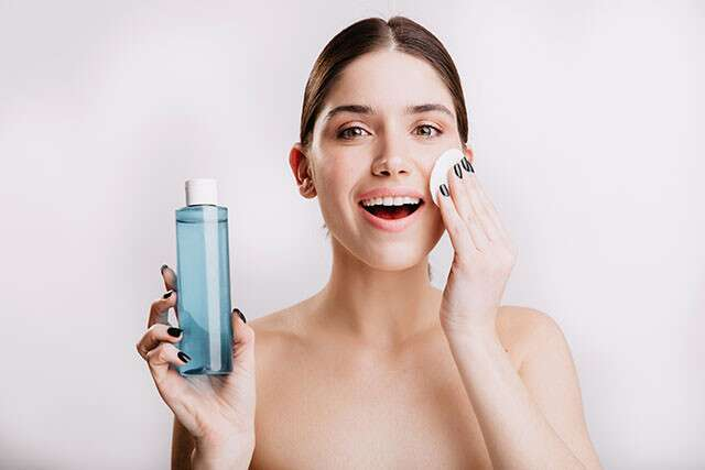 Practise Skin Toning After Cleansing