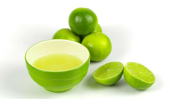 Lime juice To Get Smooth Skin