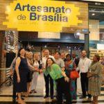 Brasília, 01.11.2019//Inauguração da loja Artesanato de Brasília, da Setur-DF, no Shopping Pátio Brasil.Foto Luís Tajes/Setur-DF