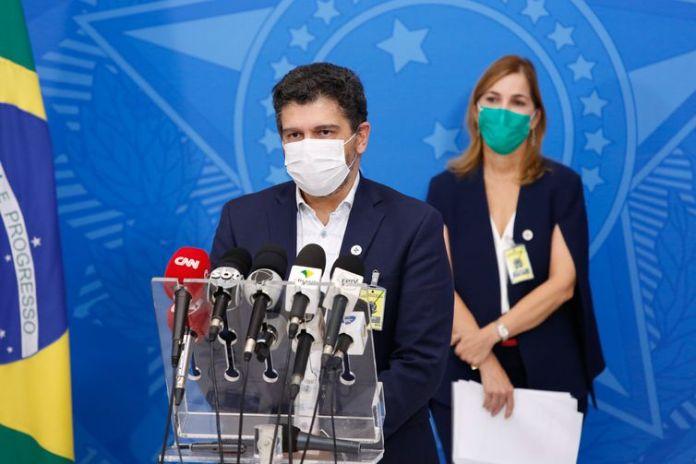 Secretário-substituto de Vigilância em Saúde do Ministério da Saúde, Eduardo Macário.