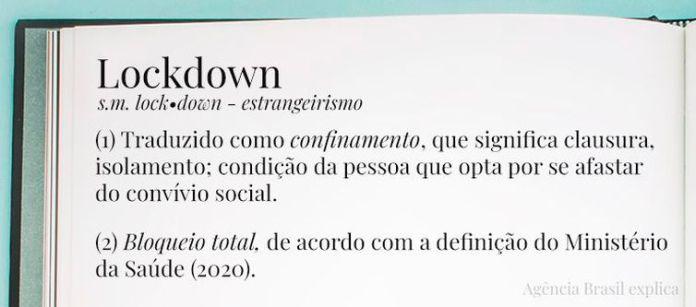 Agência Brasil define o termo