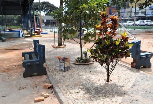 Após quase 50 anos, Praça do DI ganha primeira restauração em Taguatinga