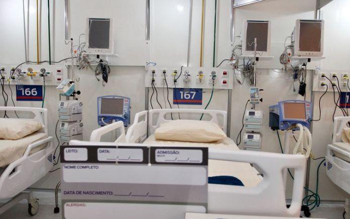 08/05/2020 - Hospital de campanha, no Célio de Barros