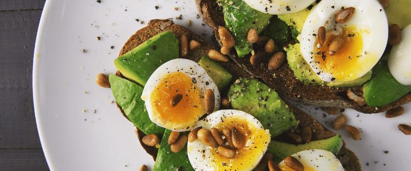 Salat mit Eier