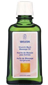 Mit dem Massage-Öl von Weleda Schwangerschafts- und Dehnungsstreifen wegbekommen.