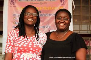 Mrs. Bukola Afolabi-Ogunyeye and Mrs. Abimbola Abolarinwa