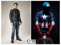 Michael Cox as Captain America