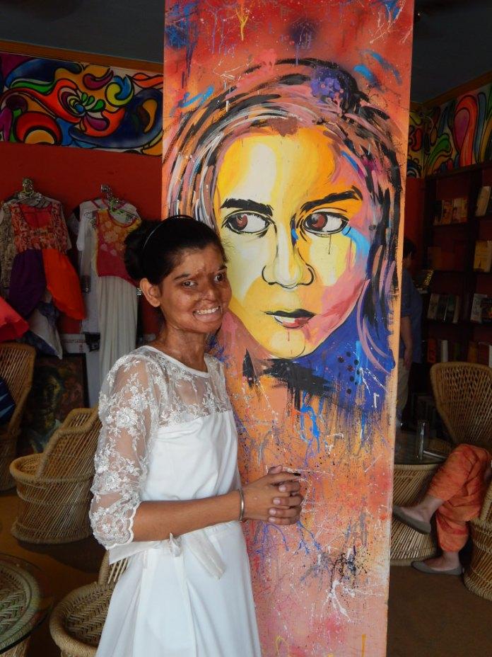 Ritu at Sheroes Hangout