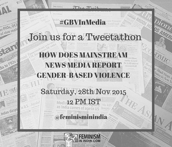 Tweetchat: How Does Mainstream News Media Report Gender-based Violence