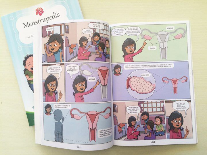 Menstrupedia comic