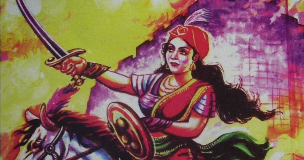 rani laxmi bai death story in hindi