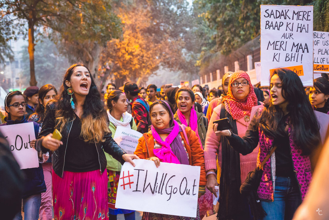 Pictures From 30+ #IWillGoOut Marches In Various Cities And Towns Of India