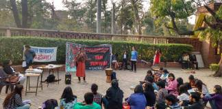 Jan Sunwai at DU Campus