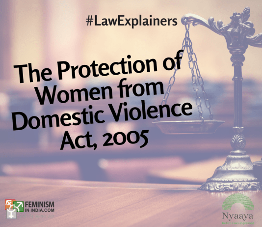The Protection Of Women From Domestic Violence Act, 2005 | #LawExplainers