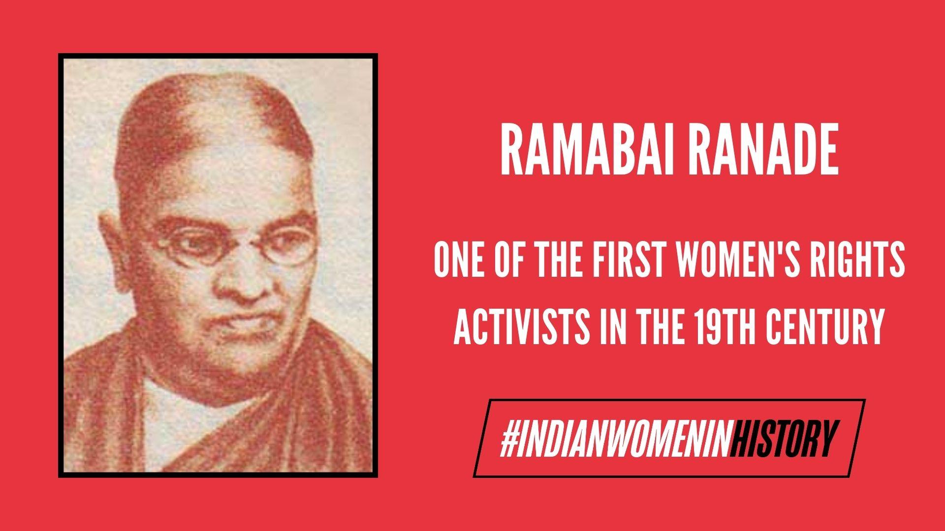 Ramabai Ranade: The Unparalleled Force   #IndianWomenInHistory